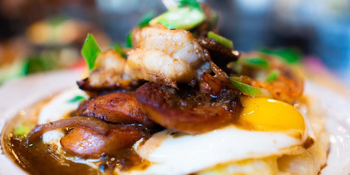 Shrimp n Grits at Scratch