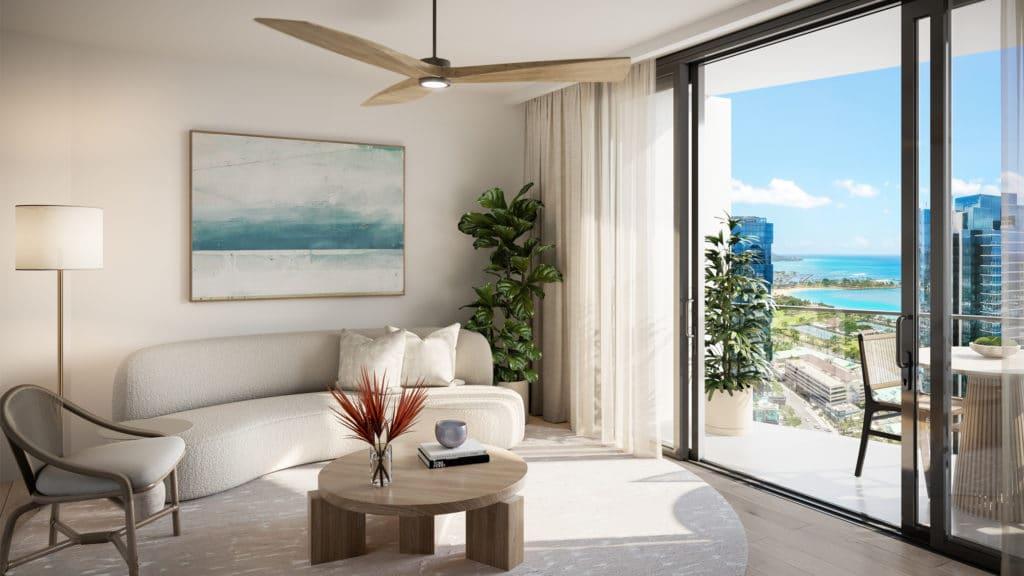 Residence 1D Living Room